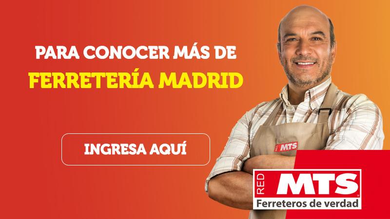 Conoce más de Ferretería Madrid