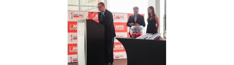 MTS fue el anfitrión del sorteo de la Copa Chile MTS 2017