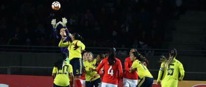 Chile iguala sin goles ante Colombia en un vibrante partido