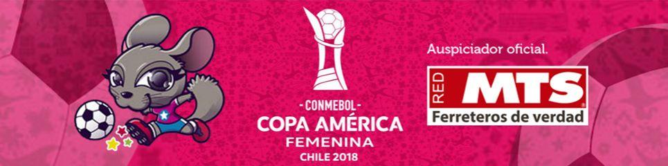 MTS Auspiciador oficial de la Copa América Femenina Chile 2018