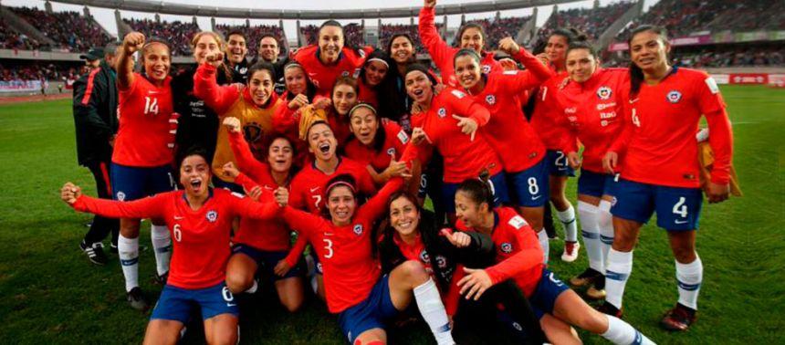 Chile goleó y estará en el Mundial de Francia 2019 y repechaje de JJ.OO
