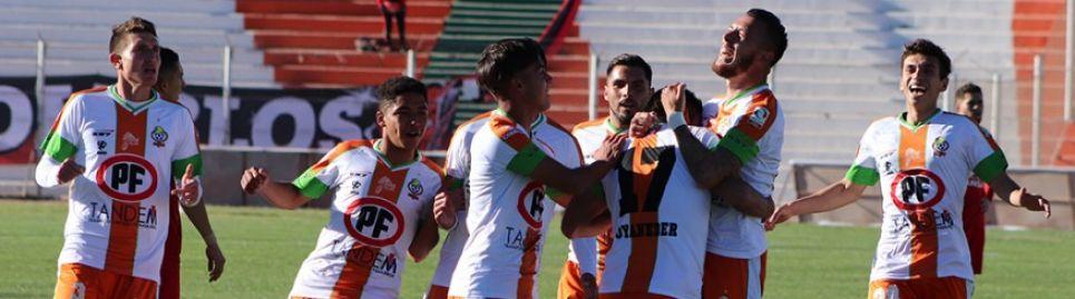 Cobresal goleó a Ñublense en El Salvador