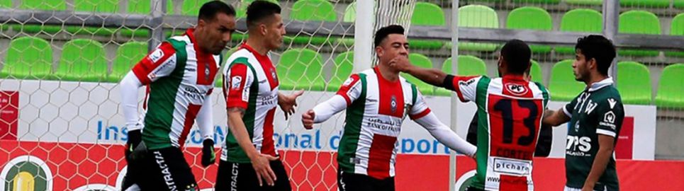 Palestino superó a Santiago Wanderers en Valparaíso