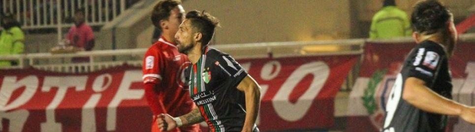 Palestino avanza a cuartos de final tras superar como visitante a Unión La Calera