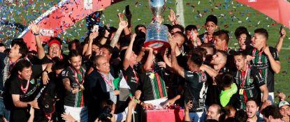 Palestino derrotó en un gran compromiso a Audax Italiano y es el nuevo campeón de Copa Chile MTS.