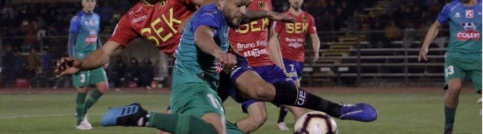 Unión Española es el último clasificado a los cuartos de final venciendo a Valdivia